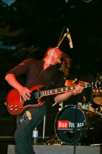 Gitarrist High Voltage Altstadtfest Nordhausen 2012