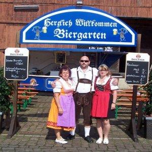 bayrischer Biergarten Altstadtfest 2012