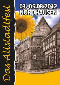 Plakat Altstadtfest 2012